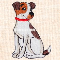 """Beagle Dog Embroidered Patch Badge Sew On Iron On by Interpatch.com. Size: 7.5cm x 5.5cm (2.9"""" x 2.1"""")"""