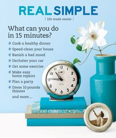 Real Simple magazine - love!