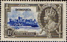 Dominica 1923 King George V Silver JubileeSG 93 Fine Used Scott 91 Other Dominica Stamps HERE