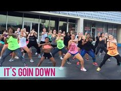 Yung Joc - It's Goin' Down ft. Nitti (Dance Fitness with Jessica Boot Camp) - YouTube
