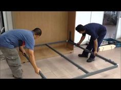 Diy Murphy Bed Build - Wall bed Hack Without the Hardware Kit Space Saving Furniture, Diy Furniture, Expand Furniture, White Furniture, Furniture Plans, Cama Murphy, Murphy Bed Hardware, Murphy-bett Ikea, Diy Bett