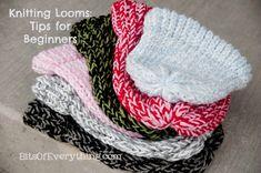 loom knitting   Knitting Loom Hats: Tips For Beginners