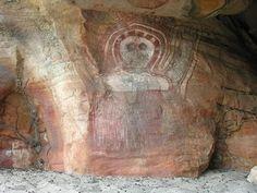 Arizona_ Gran Canyon Hopi Culture Looks strangely similar to Indigenous Australian rock art