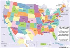 What would your state look like if every attempt to secede had been successful?
