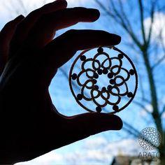 """Miłego dnia!  #Arato #aratohandmade #handmade #handmadejewelery #biżuteria #tatting #frywolitki #koronka #tattinglace #goodmorning #sky #bluesky…"""