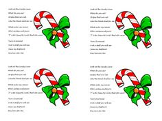 Short version of the Legend of the Candy Cane - just print on cardstock and attach a candy cane - perfect for kids on Christmas Eve at Church or Stocking Stuffers.