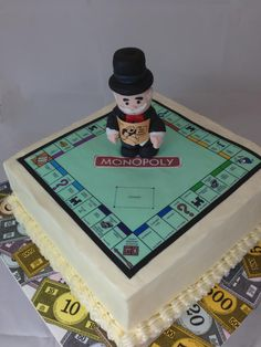 Image detail for -Uncle Money Bags birthday cake — Children's Birthday Cakes