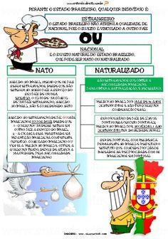 ENTENDEU DIREITO OU QUER QUE DESENHE  ???: NATO X NATURALIZADO - artigo 12/CF