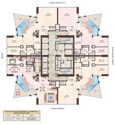 23 Dubai Marina Duplex floor 1 floors 62-85