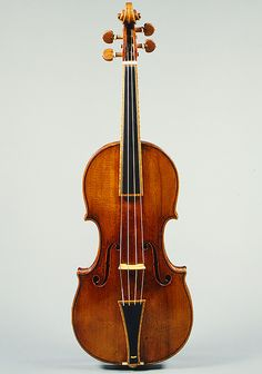 Metropolitan Museum of Art                         Violin, 1693 Made by Antonio Stradivari (Italian, 1644–1737) Cremona, Italy                                                                This violin made by Antonio Stradivari is the only one in existence that has been restored to its original Baroque form. Before modification to produce a louder, more brilliant tone and to extend the left-hand technique to higher positions, Baroque violins had gut strings, a short fingerboard, and a…