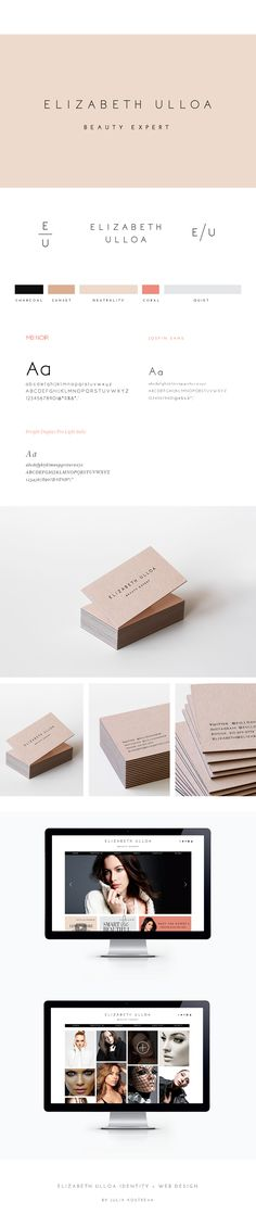 Minimal logo, business cards & identity design