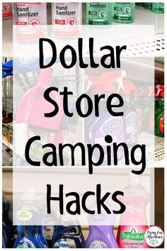 Are you getting ready for camping season, but don't want to break the bank? Check out these Dollar Store Must Haves for Camping that you can't camp with out.