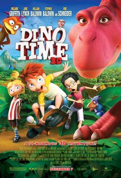 Watch the brand new trailer for @DinoTimeMovie! Dino Time heads into theaters Dec 7. http://trailers.apple.com/trailers/independent/dinotime