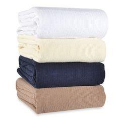 Berkshire Blanket® Comfy Soft Cotton Blanket - BedBathandBeyond.com