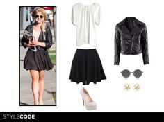 StyleCode brings you the low cost version or Kelly Osbourne´s urban style, so you can go trendy but cheap at a time