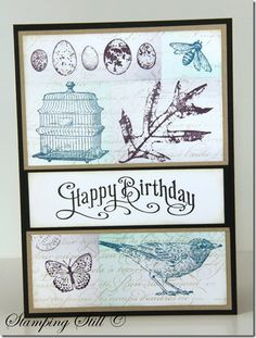 stampinup birthday card