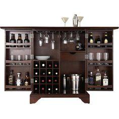 Lafayette Wine Cabinet in Mahogany