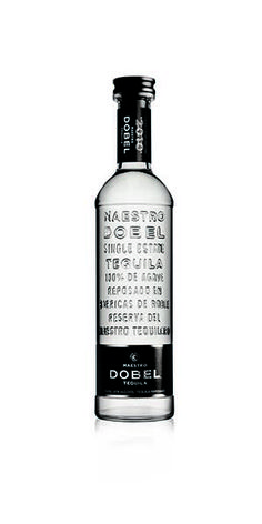 """""""Maestro Dobel Tequila is sourced from single estates, distilled from 100% blue agave and bottled in Jalisco, Mexico. Each bottle of Dobel Tequila is double-distilled, matured in Hungarian White Oak barrels, and filtered for exceptional smoothness and clarity. This tequila is recognized for its superior smoothness and iconic packaging."""" – Distiller's notes"""