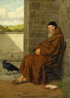 The Convent Raven - Henry Stacy Marks (1829-1898)
