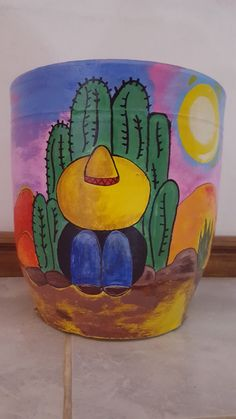Best 12 Imagen relacionada – Page 412783122088196118 – SkillOfKing. Flower Pot Art, Flower Pot Design, Flower Pot Crafts, Clay Pot Crafts, Painted Plant Pots, Painted Flower Pots, Pottery Painting Designs, Rock Painting Designs, Flower Pot People