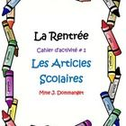 This package is perfect for your beginner students or as a review for students in their second year of French. Most activities focus on writing, bu... First Grade, Second Grade, Listen And Speak, World Languages, Thank You For Purchasing, Foreign Language, Sight Words, Fun Learning, Teacher Resources