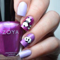 Baby Panda Nail Art Harunouta L017 Zoya Abby
