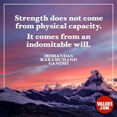 Let go of the little things #strength #focus www.values.com