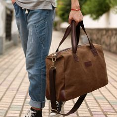 49ae3bbe729 Men s travel bags vintage canvas duffle bag men messenger bags folding  travel bag outdoor sport tote