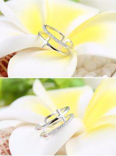 Aliexpress.com: Compre Stering prata anel de casamento para mulheres 925 de confiança anel fornecedores em SNH PEARL