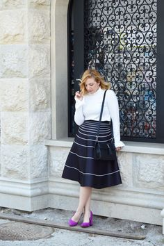 Here is the new post! #fashionbloggerstyle #ivanajeknic #monochromelook  https://theninebyivana.blogspot.com/2017/04/elegant-in-monochrome.html