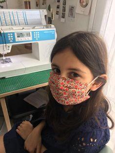 Coudre son propre masque grand public (selon les normes AFNOR) – diabolomenthecitron Easy Face Masks, Diy Face Mask, Tutu, Pin Up, Crochet, Public, Beauty, Cookies, Fashion