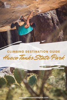 Climbing Destination Guide - Bouldering At Hueco Tanks State Park in Texas — She Dreams Of Alpine Canada Travel, Travel Usa, Travel Tips, Travel Articles, Travel Ideas, Travel Couple, Family Travel, Texas Travel, Road Trip Usa