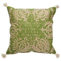 Jaipur Verdigris Green Throw Pillow @LaylaGrayce