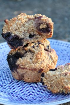 Lemon zest and cardamom give these Blueberry Muffins their amazing flavor and aroma. Oat and millet flours produce a muffin that is hearty and filling, and da