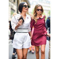 In Paris during Haute Couture.