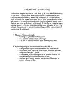 Printables Lord Of The Flies Vocabulary Worksheet lord of the flies task cards characters questions symbols and unit materials is a comprehensive
