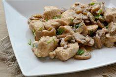 Pollo con funghi,un secondo piatto di carne semplice da realizzare