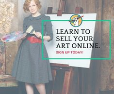 Learn to Sell Art Online with Our Free Content Library Sell Paintings Online, Selling Paintings, Selling Art Online, Online Painting, 3 Online, E-mail Marketing, Online Marketing, What Is An Artist, Online Art Courses