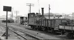 Spain - 1937. - GC - Estacion de Gernika, locomotora Zugastieta - bombardeo - 26.abril 1937.