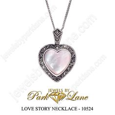 Love Story Necklace  (See the matching earrings!)