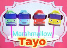 marshmallow halal: Marshmallow TOP pilihan pelanggan. Karakter Tayo....