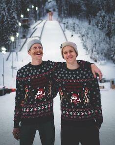 Jumper, Ski Jumping, Dream Team, Man Crush, Norway, Skiing, Christmas Sweaters, Stephan Leyhe, Take That