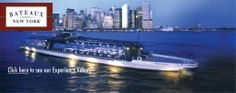 Bateaux New York Dinner Cruises and Lunch Events on the NYC Harbor