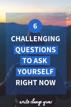 If we want to move forward in life we must get comfortable asking ourselves the hard questions. Read 6 challenging questions to ask yourself right now. Hard Questions To Ask, Life Questions, Self Development, Personal Development, Ted Talks Motivation, Routine Quotes, Building Self Esteem, Activities For Adults, Confidence Boost