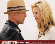 Watch Streaming HD The Whole Ten Yards, starring Bruce Willis, Matthew Perry, Natasha Henstridge, Amanda Peet. Jimmy the Tulip's (Willis) quiet new life is shaken up by his old pal Oz (Perry), whose wife (Henstridge) has been kidnapped by a Hungarian mob. The Tulip and his wife Jill (Peet) spring into action. #Comedy #Crime #Thriller http://play.theatrr.com/play.php?movie=0327247