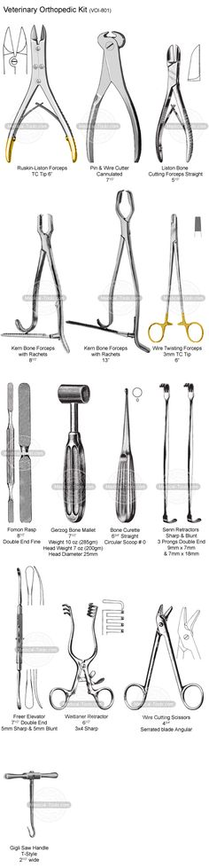 Veterinary Orthopedic Kit Veterinary Instruments Medical Tools Shop