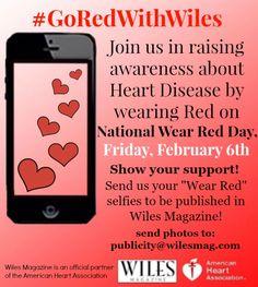 #GoRedWithWiles