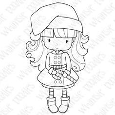 Picture, winter candy, téli kislány . még több aranyos kislány kifestő az oldalon
