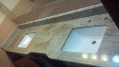 Bathroom Counter Top Looking to remodel your kitchen or bath? 35 sq.ft. starting at $1200.00 and 50 sq.ft. starting at $1700.00.  Please stop by or give us a call today at (586) 838-5054 for more information!