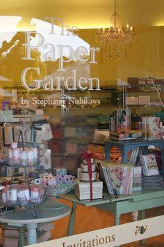 The Paper Garden Boutique  558 Pavilions Lane  Sacramento, CA 95825  916.487.2737  Great Place